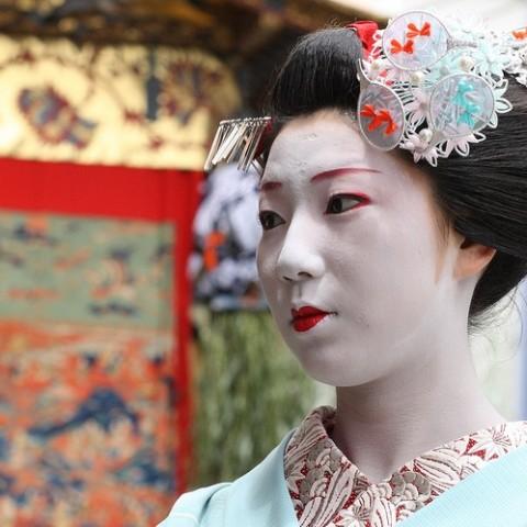 Satomi al Gion Festival 2009