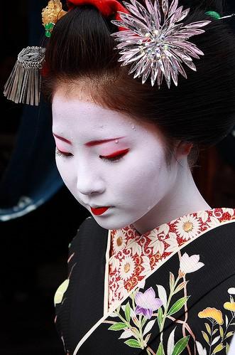 maiko Keiko of the Gion Kobu hanamachi_agosto 2008