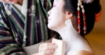Oshiroi makeup for Apprentice Geisha called Maiko or Hangyoku