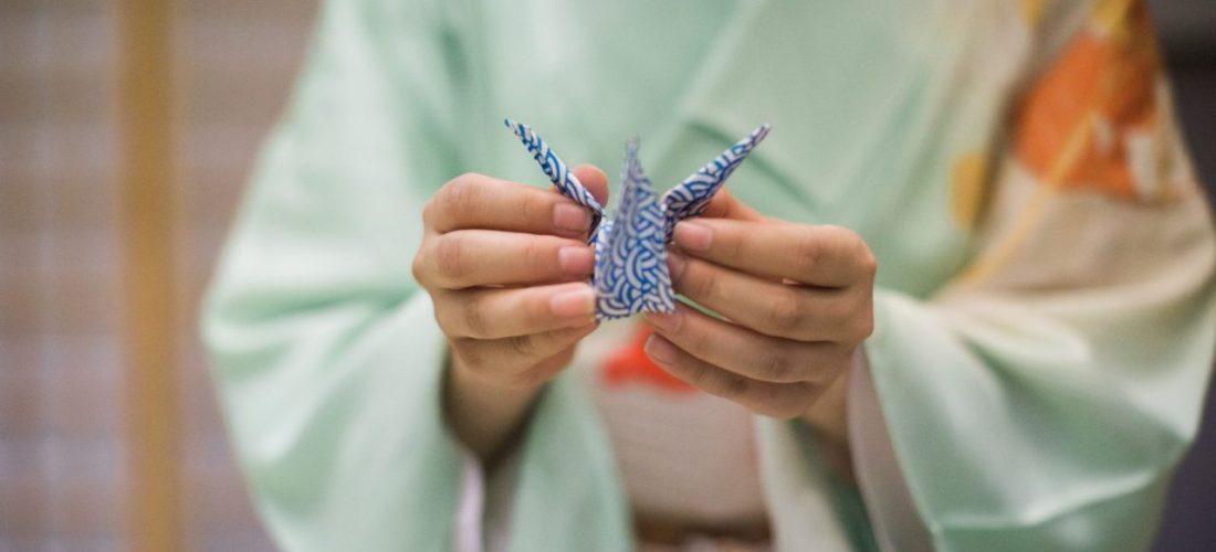 #AGeishaDay Hangyoku Tazusa origami